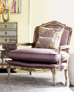 Old Hickory Tannery OLIVIA LAVENDAR CHAIR