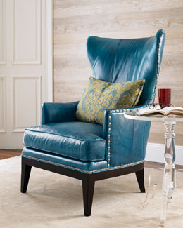 """Donovan"" Wing Chair"