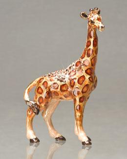 "Jay Strongwater ""Twigg"" Giraffe Mini Figurine"