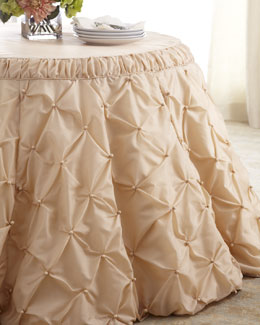 """Tufted"" Tablecloth"
