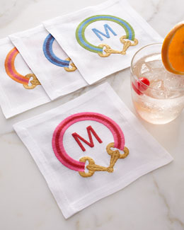 Four iomoi Cocktail Napkins