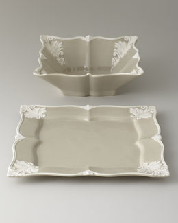 "Square ""Baroque"" Serving Bowl"