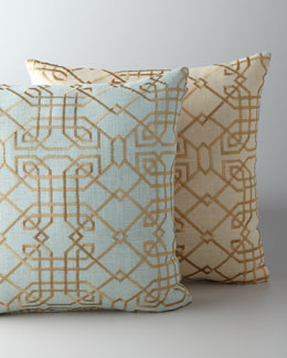 """Metropolitan"" Accent Pillow"