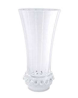 """Lalique """"Lagune"""" Tall Vase"""