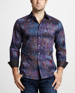 Robert Graham Ikebana Sport Shirt