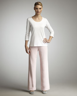 Joan Vass Knit Pants
