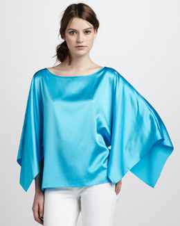 Ramy Brook Satin Piper Top