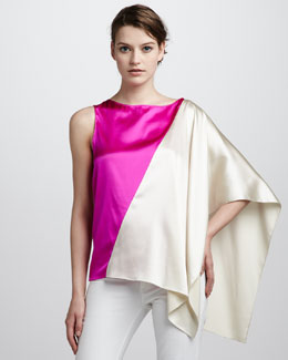 Ramy Brook Zoe Colorblock Top