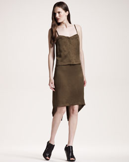 10 Crosby Derek Lam Jacquard Tank Dress
