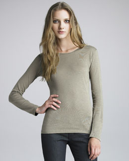 NM Luxury Essentials Crewneck Top