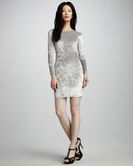 Alice + Olivia Tatum Velvet Dress