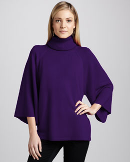 Eileen Fisher Turtleneck Poncho