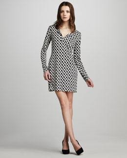 Diane von Furstenberg Reina Chain-Link Dress