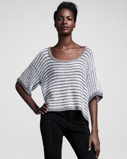 Rag & Bone Astrid Half-Sleeve Sweater
