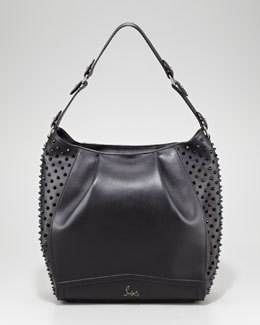 Christian Louboutin Justine Spike Hobo Bag