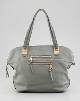 Chloe Angie Large Shoulder Bag, Toscano Cypress