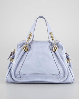Chloe Paraty Medium Shoulder Bag, Wisteria Violet