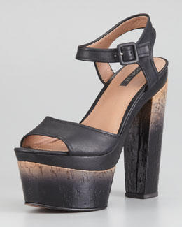 Rachel Zoe Evelyn Degrade-Heeled Sandal