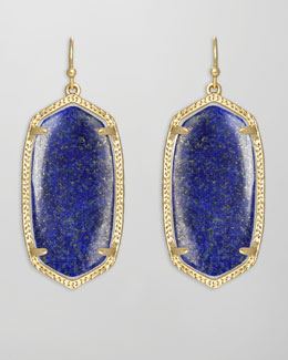 Kendra Scott Elle Earrings, Lapis