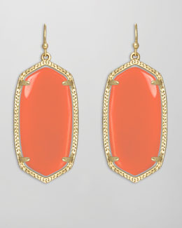 Kendra Scott Elle Earrings, Salmon