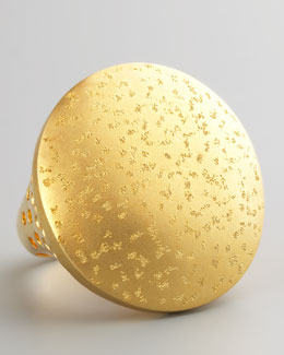 Nest Gold Dome Ring