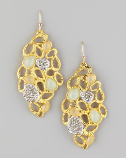Alexis Bittar Siyabona Petal Earrings