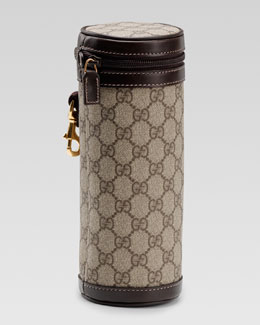 Gucci GG Insulated Bottle Carrier, Beige/Ebony