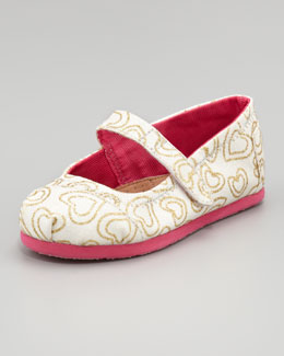 TOMS Glitter Mary Jane, Tiny