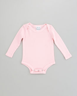 Splendid Littles Snug-Fit Playsuit, Pink Ribbon