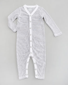 Splendid Littles Striped Snug-Fit Playsuit, Trooper