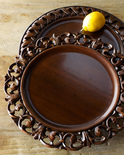 Wooden Charger Plates