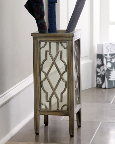 Mirrored Umbrella Stand