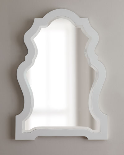 "Jonathan Adler ""Queen Anne"" Mirror"