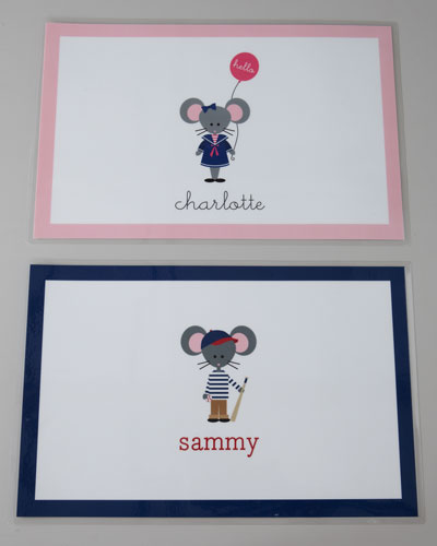 Personalized Child's Placemat
