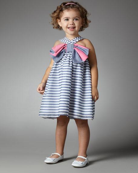American Bow Dress, Sizes 2-4T