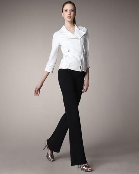 Neiman Marcus Jersey Pants, Women's