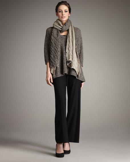 Linen Mesh Tunic, Women's