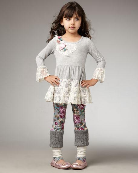 Lace Tunic, Sizes 7-10