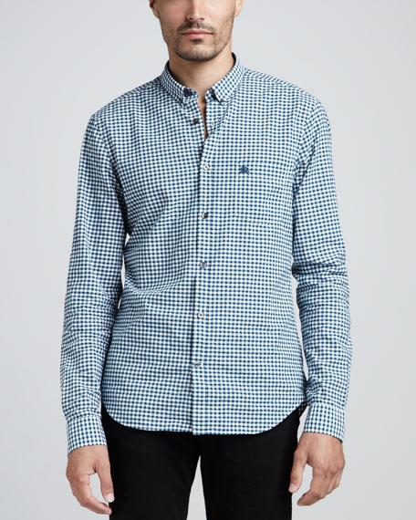 Gingham Button-Down Shirt, Flint