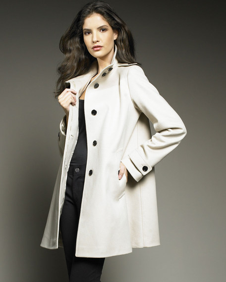 Wool-Cashmere Coat