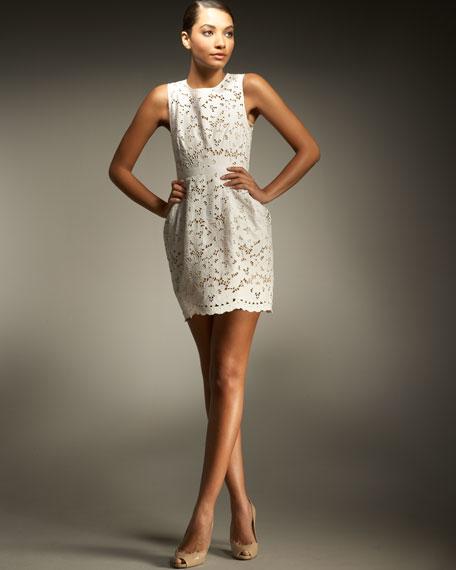 Tablecloth Lace Dress