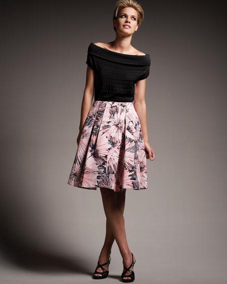 Faille Party Skirt