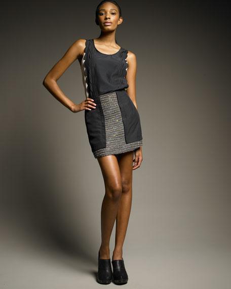 Tweed Combination Skirt
