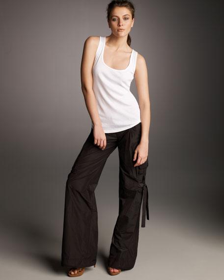 Tech Taffeta Cargo Pants