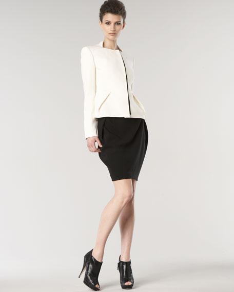Inverted-Pleat Skirt