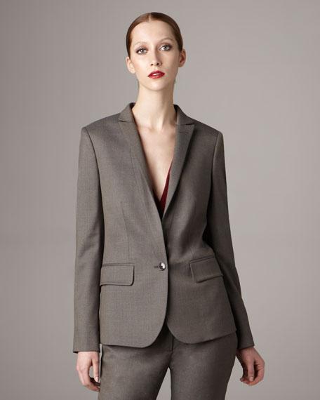 Skinny Lapel Jacket