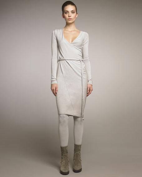 Cool Wool Jersey Twisted Tunic