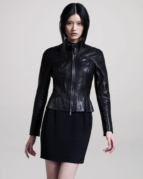 Silk Miniskirt
