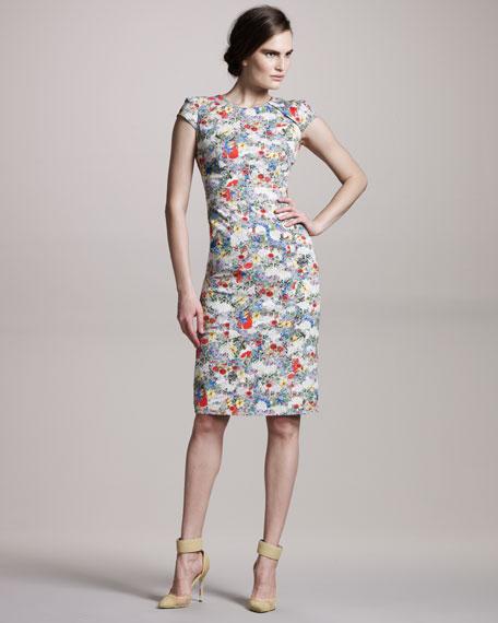 Eliza Floral-Print Dress