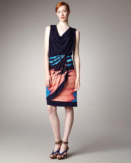 Ikat-Print Skirt